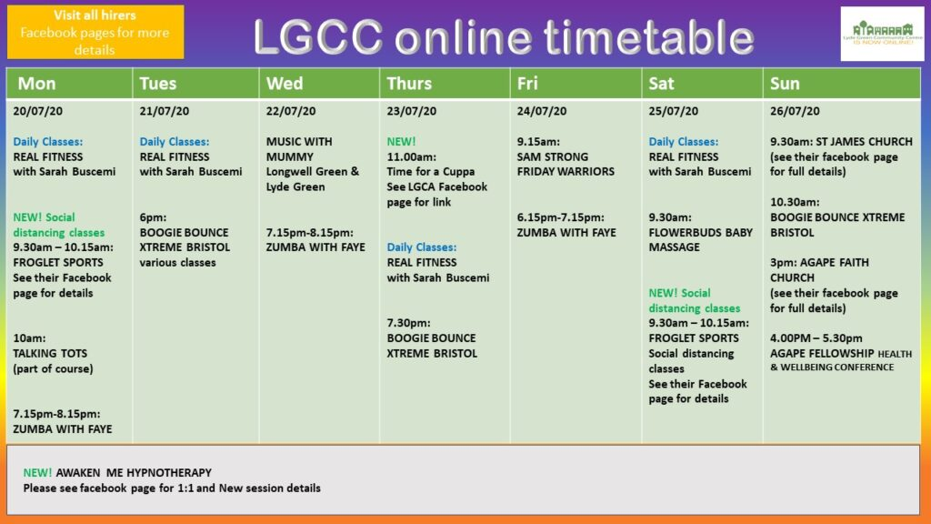 LGCC goes online!