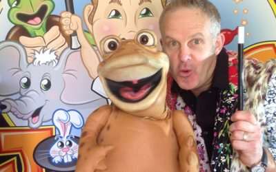 Johnny G – Funky Puppet Magic Show and Kids Disco! at Lyde Green Community Centre