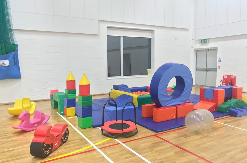 Summer Holidays in Lyde Green Community Centre- Soft Play sessions